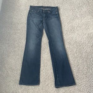 Bootcut Jeans Y2K Low Rise